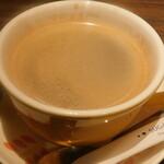 卵と私 - ホットコーヒー(選べるドリンク)