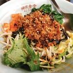 神武食堂 - 黒ごま汁なし坦々麺