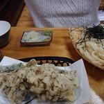大澤屋 - 楓うどんセット 1350円税込