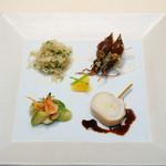 メゾン・ド・ユーロン - 旬を味わう前菜の盛り合わせ