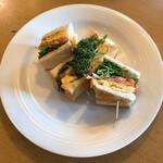 ダン珈琲店 - ダグウッドサンドイッチ