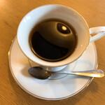 ダン珈琲店 - ランチのネイルドリップコーヒー