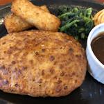 菜々家 - 濃厚デミグラスハンバーグ