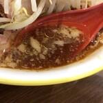 ラーメンイエロー - 【再訪】並(野菜,アブラ)