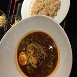 札幌スープカレー本舗 - 野菜7種のスープカリー