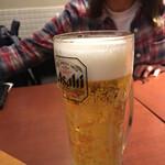 札幌スープカレー本舗 - 生ビール