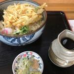 のんき家 - 料理写真:冷かけ天ぷら大盛 ¥740-
