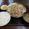 日の出屋 - 料理写真:野菜炒め定食