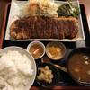 Mizutani - 料理写真:ジャンボみそかつ定食 (ごはん大盛り)