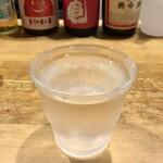 長平 - 佐渡の酒「北雪」400円也。