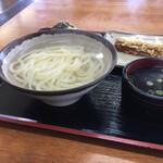 まはる - 料理写真:湯だめうどん(ほぼ釜揚げ)