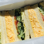 サンドウィッチ ルマン - 料理写真:絶品!たまごサンドと野菜サンドのAセット。