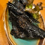 yakitorirobatayakigenki - 山芋の磯部あげ