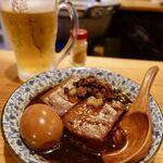よしたろう - 煮込み肉豆腐玉子付 520円