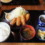 ユイットル - 牡蠣フライ定食/1000円