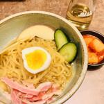 牧場直営 焼肉ふじの蔵 - ハーフ冷麺