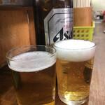 酒の穴 - アサヒ大瓶♪