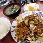 つけ麺大王赤羽店 - ホイコーロー定食
