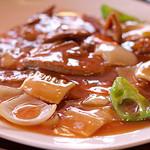 中国料理 甜甜酒楼 - 豚レバ炒め