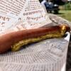 メッツゲライ ハットリ - 料理写真: 絹びきはボイル。一口噛むとブリンっと弾ける。おいし〜