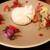 チーズ家 Quelle - 料理写真:苺の出来立て水牛ブッラータ