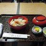 三笑亭 - 天丼