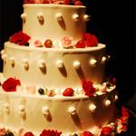 ホテルニューオータニ 幕張 - 会場内にディスプレイされていた華やかなケーキ1