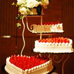 ホテルニューオータニ 幕張 - 会場内にディスプレイされていた華やかなケーキ2