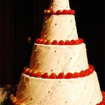 ホテルニューオータニ 幕張 - 会場内にディスプレイされていた華やかなケーキ3