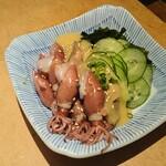 和食Dining うお座 - ホタルイカ酢味噌あえ