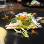 トラットリア・モキチ - 鯛と白魚のヴァポーレ