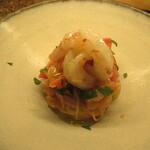 Reima - 海老とドライトマトのカッペリーニ