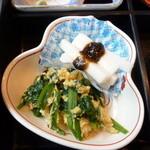 潮浜 - 華膳の小鉢
