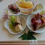 中国料理 皇苑 - 前菜盛り合わせ