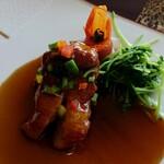中国料理 皇苑 - 豚スペアリブの香り揚げ