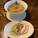麺屋あごすけ - 【2020.2.27】鶏塩上湯麺/塩らーめん900円