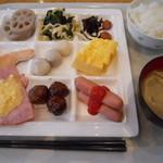ラ・ベランダ - 朝食バイキング
