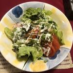 レストラン&カフェ ひぐち - 季節の大盛りサラダ