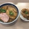 まるぎん商店 - 料理写真:ぎん兵衛+ミニ唐揚げ丼