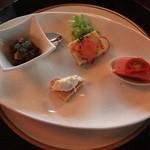 セルフィーユ - ディナーコース 前菜4種盛り
