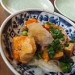 焼きとん・もつ鍋 お多福 - あん肝ポン酢770円