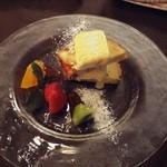 セルフィーユ - ディナーコース デザート