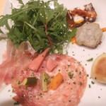 オステリア ウマーノ - 前菜盛り合わせ ★★★★☆