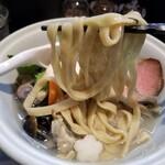 らーめん三極志 - 貝の三極志Ⅱ~桜を見る貝~の麺リフト