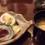 土佐料理 祢保希 - 巻き寿司