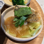 和カフェ yusoshi - 鰆の湯葉あんかけ