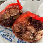貝増商店 - 料理写真:桑名産小 地はまぐり500g 2,500円×2