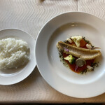 プルミエ - 甘鯛のムニエルは極上の味わいでした(^_^)v