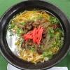 加西サービスエリア(下り線)フードコート - 料理写真:ぼっかけラーメン