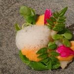 Gentil H - 帆立貝とエンドウのサラダ